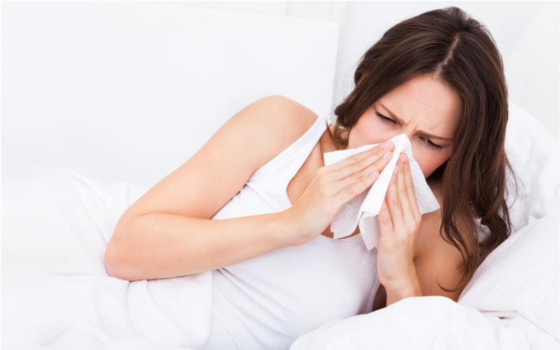 Hausstauballergie-Symptome